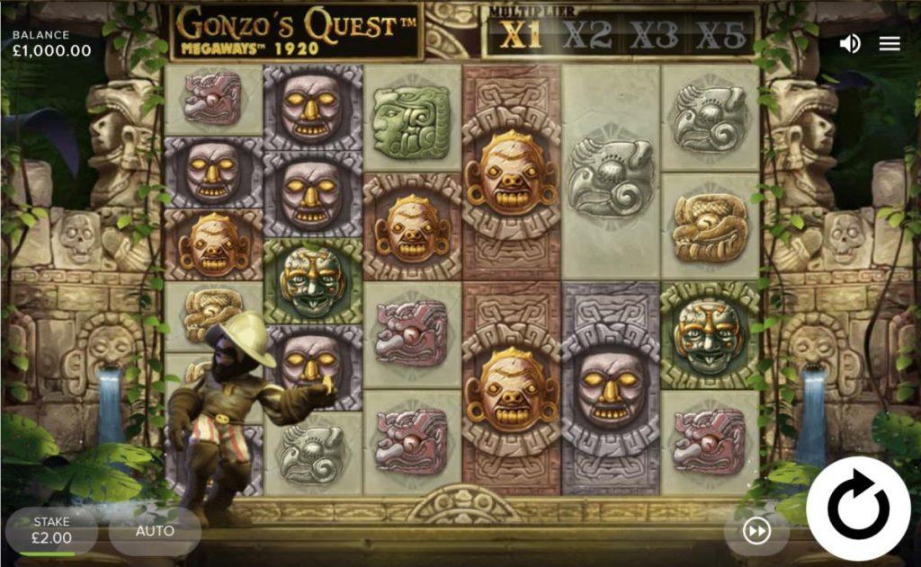 Gonzo's Quest Megaways-พนัน